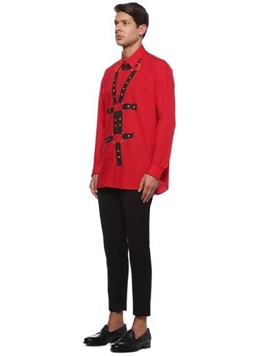 Versace Gömlek Kırmızı